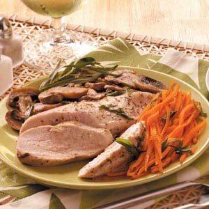 Tarragon Chicken & Veggie Packet