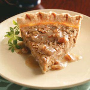 Sweet Potato Pie & Maple Praline Sauce