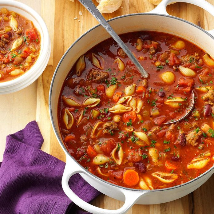 Hearty Pasta Fagioli