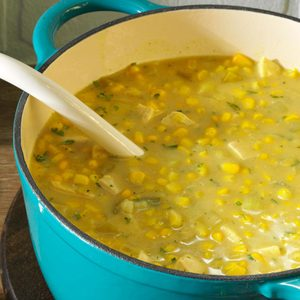 Curried Chicken Corn Chowder