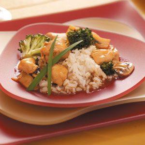 Chicken Broccoli Stir-Fry