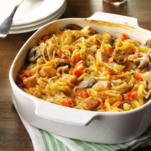 Turkey Spaghetti Casserole