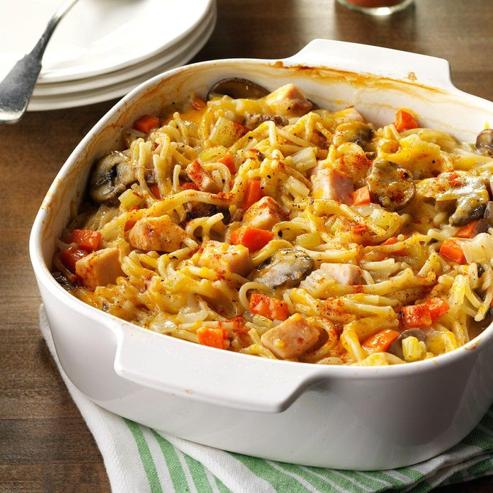 Day 8: Turkey Spaghetti Casserole