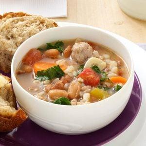 Italian Sausage Bean Soup
