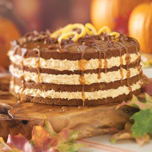 Orange Pumpkin Cake