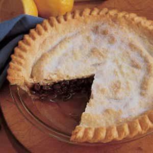 Grandma Meg's Raisin Pie
