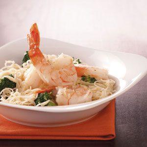 Shrimp & Broccoli with Pasta