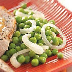 Green Peas with Onion