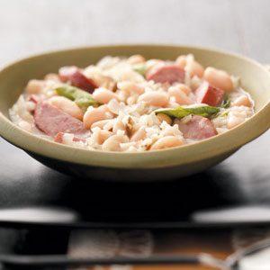 Sausage & Rice Stew