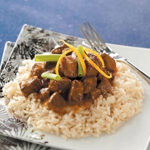 Asian Orange Beef