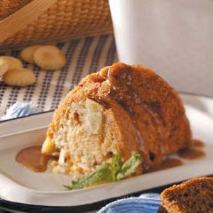 Caramel-Glazed Apple Cake