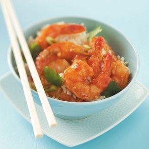 Ginger Shrimp Stir-Fry