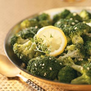 Lemon Broccoli with Garlic