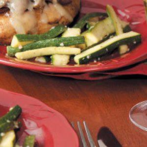 Sauteed Zucchini Strips