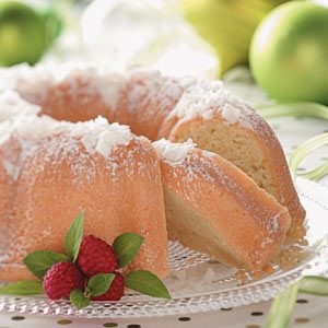 Easy Coconut Pound Cake
