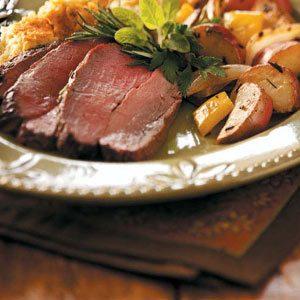 Rosemary-Garlic Roast Beef