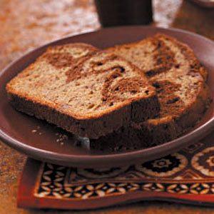 Chocolate Ribbon Banana Loaf