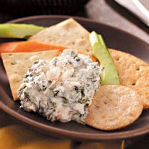 Spinach & Crab Dip