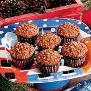 Chocolate Toffee Cupcakes