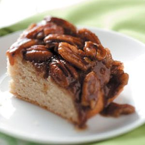 Makeover Pecan Upside-Down Cake