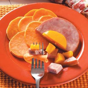 Ham & Sweet Potato Packets