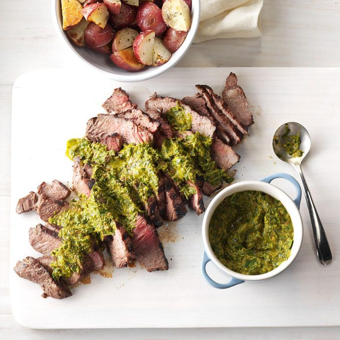 Day 7: Steak with Chipotle-Lime Chimichurri