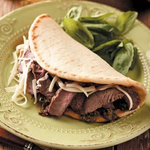 Tuscan Steak Flatbreads