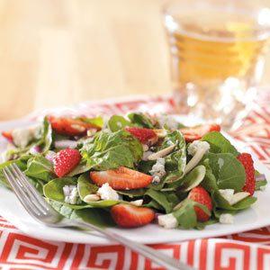 Strawberry Arugula Salad
