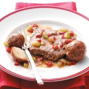 Round Steak with Potatoes