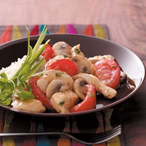 Easy Chicken Chasseur