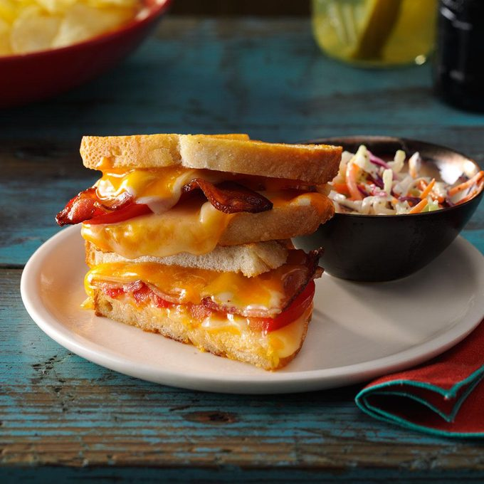Bacon & Cheese Sandwiches
