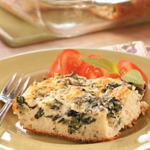 Baked Spinach Supreme