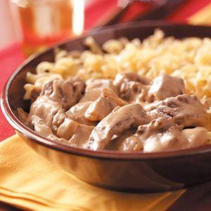 Hearty Beef and Noodles