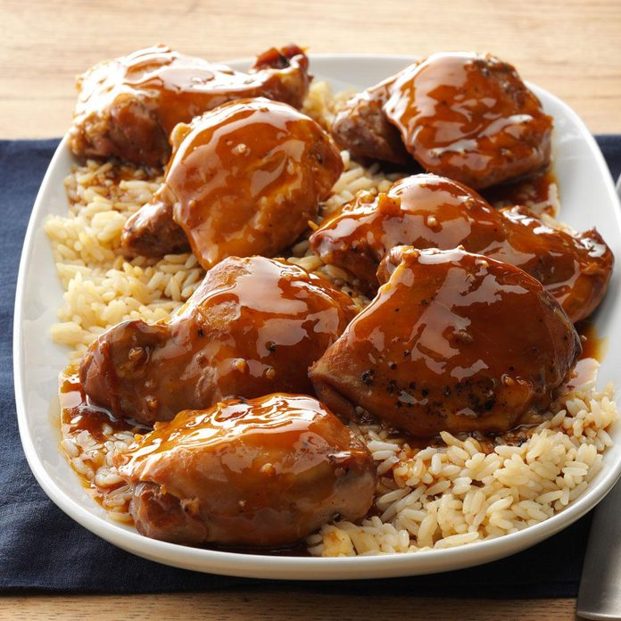 10: Teriyaki Chicken Thighs