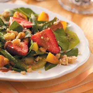 Fresh & Fruity Spinach Salad