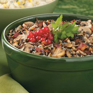 Mushroom Wild Rice Dish