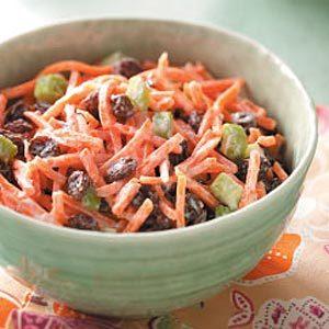 Carrot Raisin Salad for Four