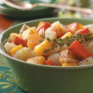 Herbed Slow-Roasted Vegetables