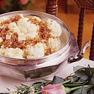 Cauliflower Cheddar Bake