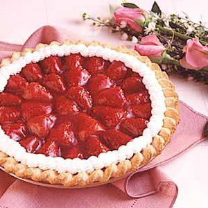 Strawberry Glaze Pie