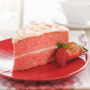 Makeover Strawberry Cake