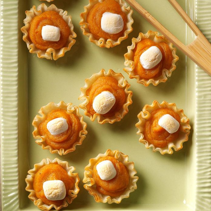 New Mexico: Sweet Potato Tartlets
