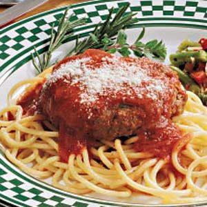 Easy Italian Hamburgers