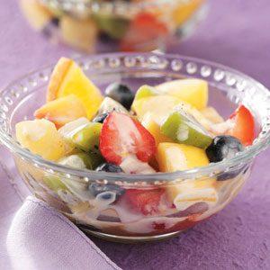 Fruit Salad with Lemon Dressing