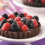 Chocolate Berry Tarts