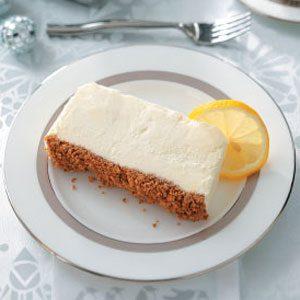 Italian Lemon Frozen Dessert