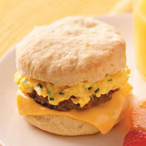 Sausage 'n' Egg Biscuits