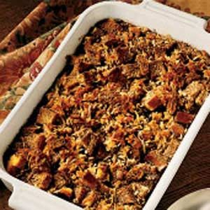Chocolate Bread Pudding with Coconut