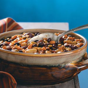 Slow-Cooked Pork & Beans