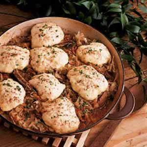 Ribs, Sauerkraut and Dumplings